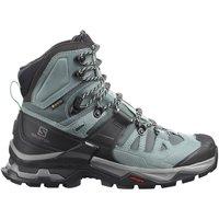 Schuhe Damen Wanderschuhe Salomon Sportschuhe Quest 4 GTX W 413870 Quest 4 GTX W schwarz