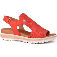 Schuhe Damen Sandalen / Sandaletten Paula Urban 7-341 Rot