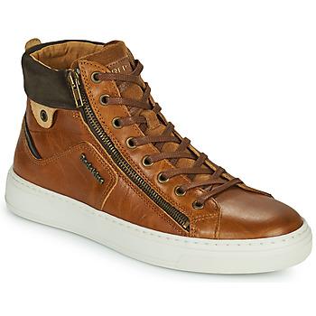 Schuhe Herren Sneaker High Redskins HOPESO Cognac