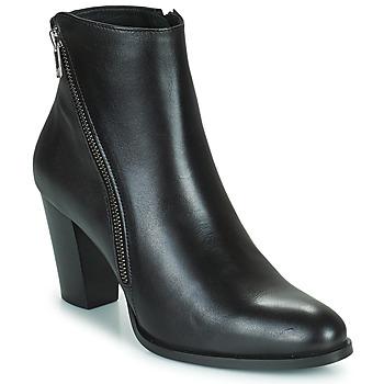 Schuhe Damen Low Boots Fericelli POMIO Schwarz