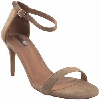 Schuhe Damen Sandalen / Sandaletten Bienve Zeremonie Dame  1jb-19379 beig Braun