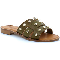Schuhe Damen Pantoffel Semerdjian  Kaki