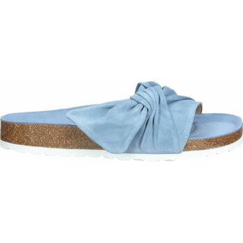 Schuhe Damen Pantoffel Bullboxer Pantoletten Hellblau