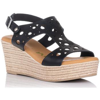 Schuhe Damen Sandalen / Sandaletten Zapp 4705 Schwarz