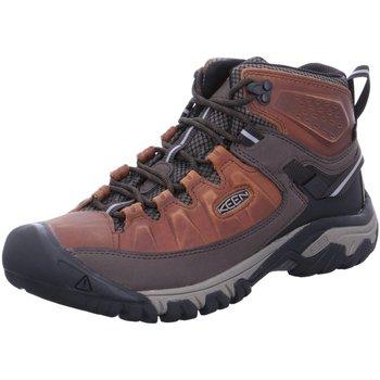 Schuhe Herren Fitness / Training Keen Sportschuhe Targhee III mid WP 1023030 braun