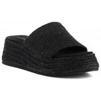 Schuhe Damen Pantoffel Obi Shoes C1331KA Noir