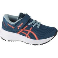 Schuhe Kinder Laufschuhe Asics Patriot 12 PS Blau