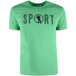 Kleidung Herren T-Shirts Bikkembergs  Grün