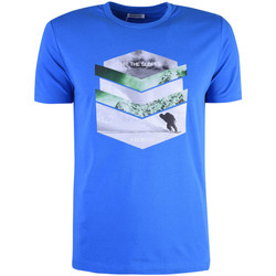 Kleidung Herren T-Shirts Bikkembergs  Blau