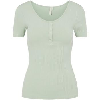 Kleidung Damen T-Shirts Pieces 17101439 Verde