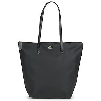 Taschen Damen Shopper / Einkaufstasche Lacoste L.12.12 CONCEPT LONG Schwarz