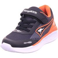 Schuhe Jungen Sneaker Low Kangaroos KQ-Swift EV jet black/neon orange 5075