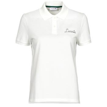 Kleidung Damen Polohemden Lacoste PF7251 Weiss