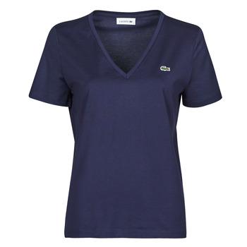 Kleidung Damen T-Shirts Lacoste LOUIS Marine