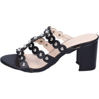 Schuhe Damen Pantoffel Silvian Heach BH155 Schwarz