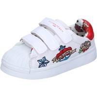 Schuhe Mädchen Sneaker Low Silvian Heach BH156 Weiß