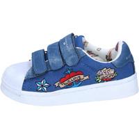 Schuhe Mädchen Sneaker Low Silvian Heach BH157 Blau