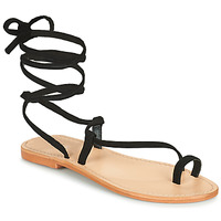 Schuhe Damen Sandalen / Sandaletten Jonak WALT Schwarz