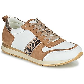Schuhe Damen Sneaker Low Betty London PERMINE Weiss