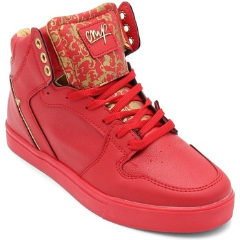 Schuhe Herren Sneaker High Cash Money  Rot