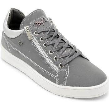 Schuhe Herren Sneaker Low Cash Money  Grau