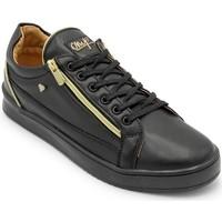 Schuhe Herren Sneaker Low Cash Money  Schwarz