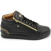 Schuhe Herren Sneaker High Cash Money  Schwarz