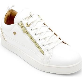 Schuhe Herren Sneaker Low Cash Money  Weiß