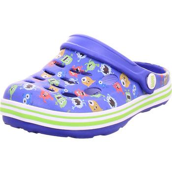 Schuhe Pantoletten / Clogs Hengst - R85430 aqua-lavendel