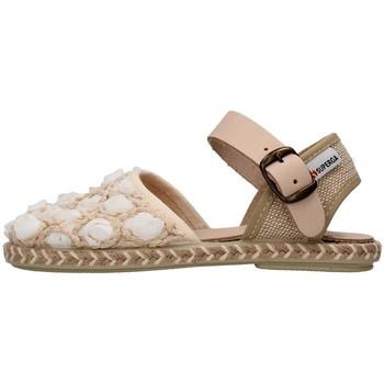 Schuhe Mädchen Sandalen / Sandaletten Superga S07R937 WEISS