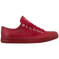 Schuhe Herren Sneaker Low Big Star V174348 Rot