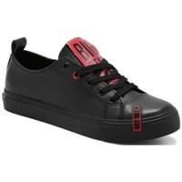 Schuhe Damen Sneaker Low Big Star EE274303 Schwarz