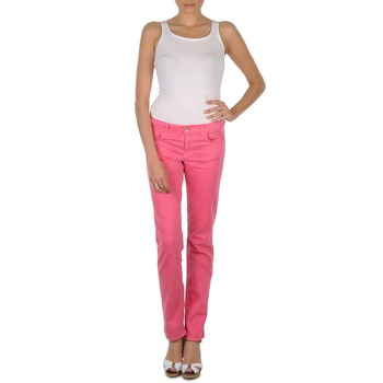 Kleidung Damen 5-Pocket-Hosen Gant DANA SPRAY COLORED DENIM PANTS Rose