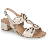 Schuhe Damen Sandalen / Sandaletten Marco Tozzi ANTHINEA Rose