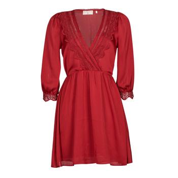 Kleidung Damen Kurze Kleider Moony Mood ABIDOSE Rot