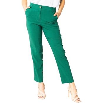 Kleidung Damen Chinohosen Sandro Ferrone S15XBAALAN Verde