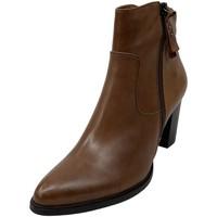 Schuhe Damen Low Boots Regarde Le Ciel Stiefeletten JULIA 08 COGNAC braun