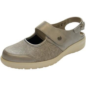 Schuhe Damen Derby-Schuhe Solidus Sandaletten Heaven 2750080196 27500 80196 beige
