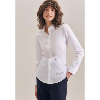 Kleidung Damen Tops / Blusen Seidensticker Schwarze Rose 60.080612 Weiß