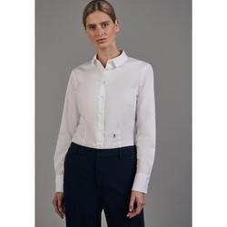 Kleidung Damen Tops / Blusen Seidensticker Schwarze Rose 60.080620 Weiß