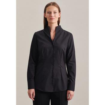 Kleidung Damen Tops / Blusen Seidensticker Schwarze Rose 60.118201 Schwarz