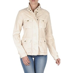 Kleidung Damen Jacken Gant COTTON LINEN 4PKT JACKET Beige