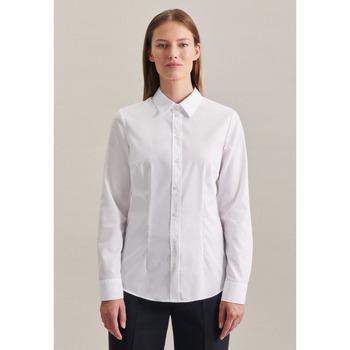 Kleidung Damen Hemden Seidensticker Schwarze Rose 60.080635 Weiß