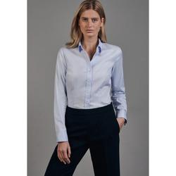 Kleidung Damen Hemden Seidensticker Schwarze Rose 60.080645 Hellblau