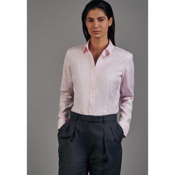 Kleidung Damen Hemden Seidensticker Schwarze Rose 60.080645 Rosa/Pink