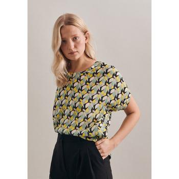Kleidung Damen Tops / Blusen Seidensticker Schwarze Rose 60.131372 Gelb
