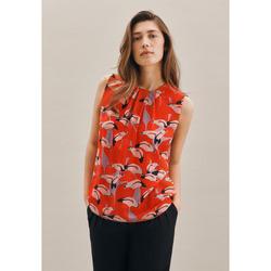 Kleidung Damen Tops / Blusen Seidensticker Schwarze Rose 60.131192 Rot