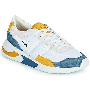 Schuhe Damen Sneaker Low Gola GOLA ECLIPSE Weiss / Blau / Gelb