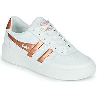 Schuhe Damen Sneaker Low Gola GOLA GRANDSLAM Weiss / Bronze