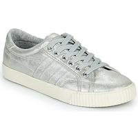Schuhe Damen Sneaker Low Gola GOLA TENNIS MARK COX SHIMMER Silbern